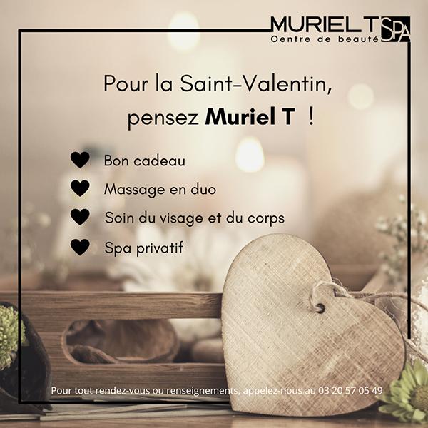 Pour la Saint-Valentin, pensez Muriel T ♡