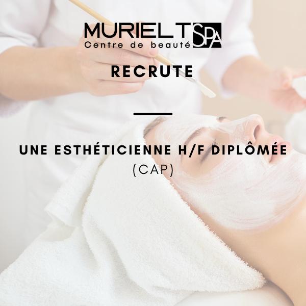 Muriel T Spa -Centre de beauté recrute !